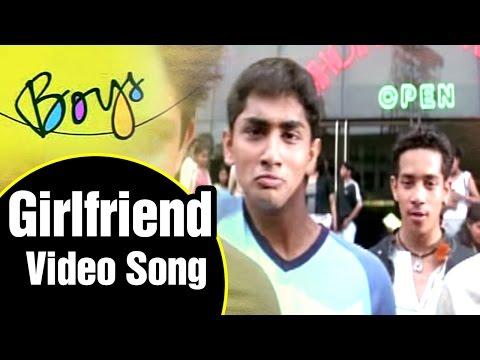 Girlfriend Video Song | Boys Tamil Movie | Siddharth | Genelia | Bharath | Shankar | AR Rahman