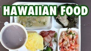 How to Eat Traditional Hawaiian Food in Honolulu (in HD)