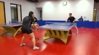 Training with Coach Amy: Backhand to forehand switch