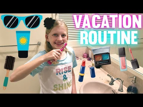 My Vacation Morning Routine & Daily Life on the Road