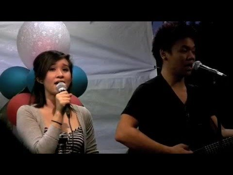 AJ Rafael and Cathy Nguyen - Lucky (COVER) Video