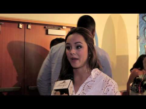 Haley Orrantia Supports Nautica Oceana Beach House Party