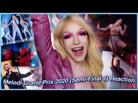 Melodi Grand Prix 2020 (Semi-Final 1) - Norway in Eurovision REACTION