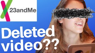 The 23andme video youtube DIDN'T want you to see
