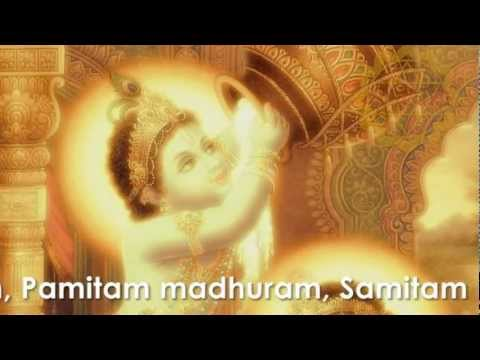 Sri Krishna Ashtakam - Adharam Madhuram - Madhurastakam By Advaita video