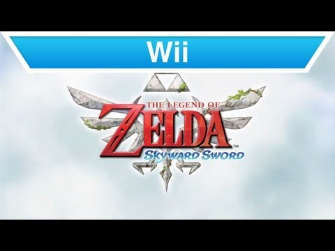 Wii - The Legend of Zelda: Skyward Sword Gameplay Video