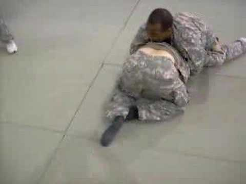 Me doing Army Modern Combatives Training level 1 Image 1