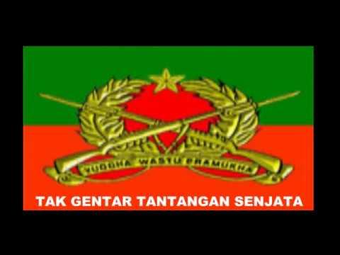 MARS INFANTERI LIRIK PUSDIKIF PUSSENIF KODIKLAT TNI AD