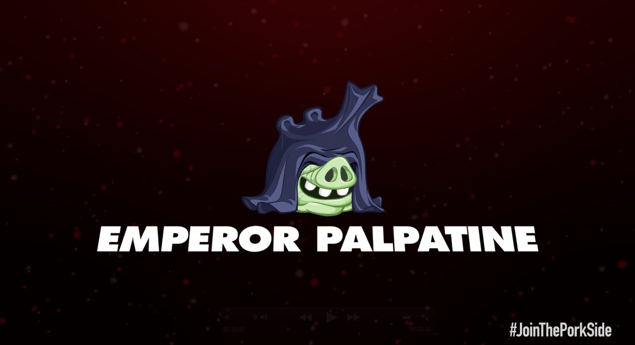 Angry Birds Star Wars 2 character reveals: Emperor ...