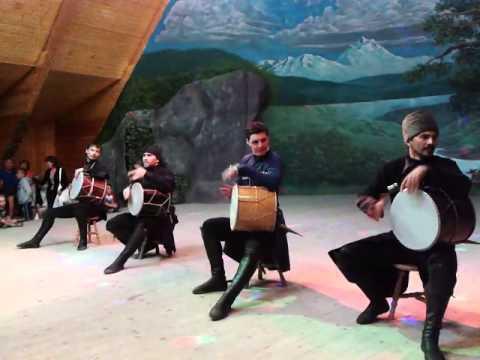Kавказские танцы - Caucasian dance part 2