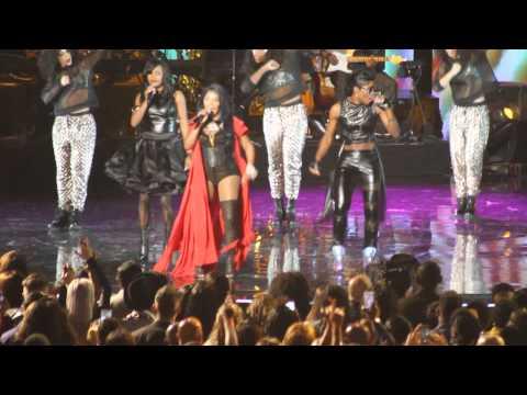 LIL KIM Ladies Night Reunion Soul Train Awards 2014