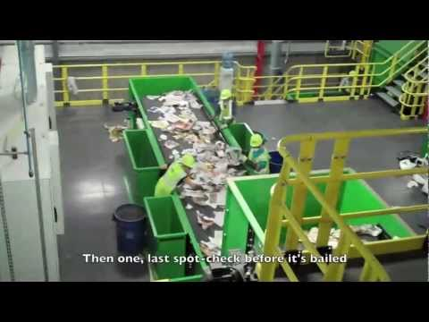 How Does a Recycling Center Work?