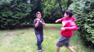 Manliest fight ever part 2