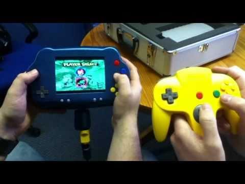 Nintendo 64 portátil Eu queria ter um