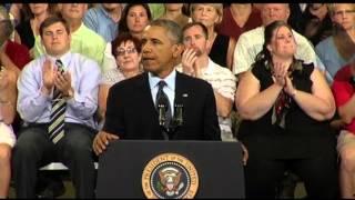Obama: Washington Took Its Eye Off Economic Ball  7/24/13