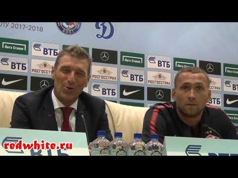 Пресс-конференция Массимо Карреры после матча динамо - Спартак 2:2