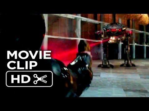 RoboCop Movie CLIP - RoboCop VS. ED-209 (2014) - Samuel L. Jackson Movie HD