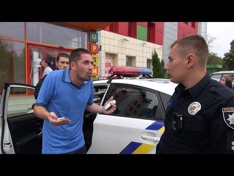 Водитель Rolls-Royce vs. патрульная полиция Харькова