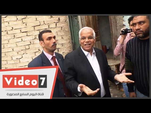 بالفيديو .. محافظ القاهرة يصل مغارة الأباجية لبدء إزالة العقارات الخطرة