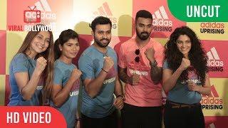UNCUT  - Adidas Uprising 3.0   Rohit Sharma, K.L Rahul, Saiyami Kher, Nikhat Zareen