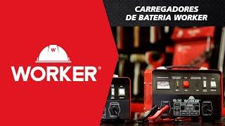 CARREGADORES DE BATERIA WORKER