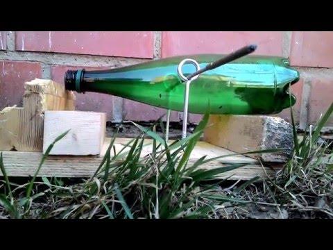 Ловля мышей при помощи бутылки