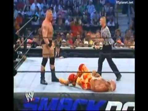 Brock Lesnar vs. Hulk Hogan (в озвучке Котика и Ёжика)