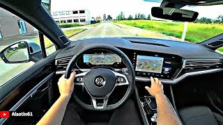 VW Touareg 2019 POV Review and Test Drive