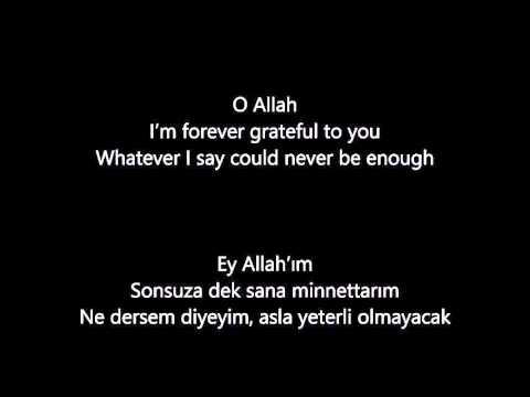 Maher Zain - I Love You So (English & Turkish Lyrics) - [Maceracı~Burak]