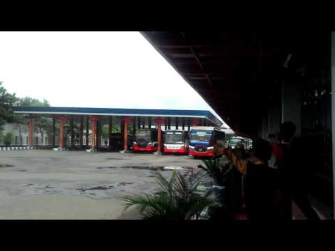 Telolet harapan jaya di terminal Gayatri Tulungagung