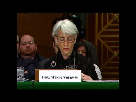 Under Secretary Sherman Testifies on the P5+1 Joint Plan of Action With Iran