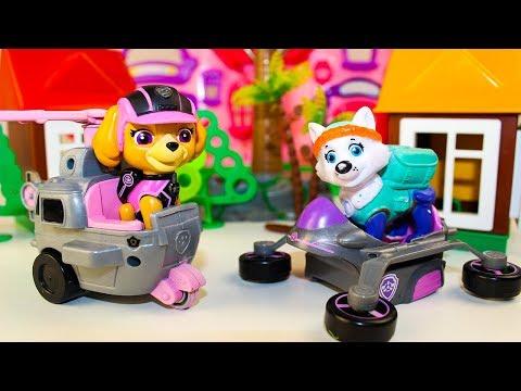 Мультики для детей про игрушки Щенячий патруль Скай и Эверест Новые мультфильмы Видео для детей
