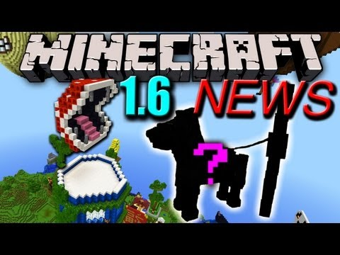 Minecraft News: 1.6 Horse Armor. Hitching Rope. Difficulty Spike. New Launcher. & More!