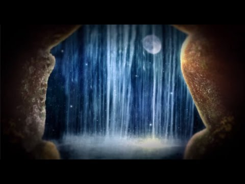 Moonlight Waterfall   Concentrate, Study, Do Homework, Relax Or Sleep   10 Hours Nature Sounds video