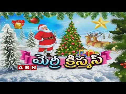 Christmas 2018 Grand Celebrations in Hyderabad | ABN Telugu