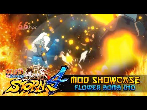 Flower Bomb Explosion Ino!!! Naruto Shippuden Ultimate Ninja Storm 4 Mods w/ ShinoBeenTrill thumbnail
