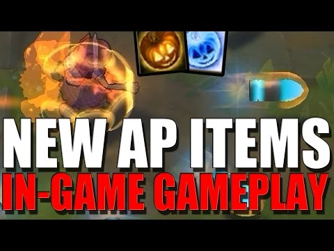 NEW AP ITEMS GAMEPLAY - League of Legends
