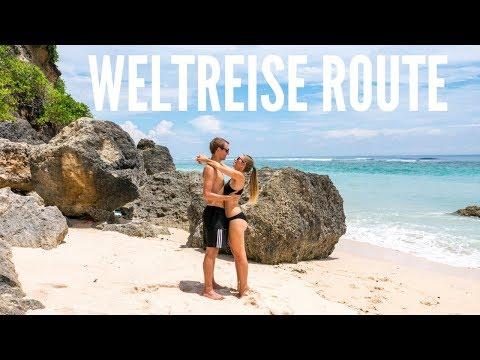 Weltreise Route - Welche Länder bereisen wir noch? Bali | VLOG #307