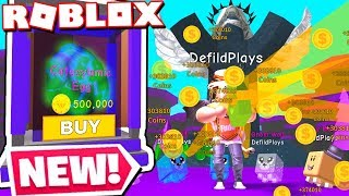 BUYING THE *BEST* REBIRTH PET EGGS IN MAGNET SIMULATOR UPDATE! (Roblox)