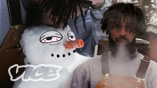 Getting High with a Smokeable Snowman | Smokeables