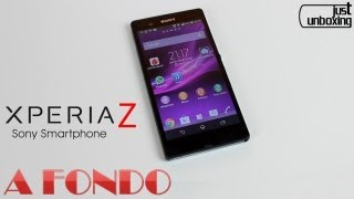 Sony Xperia® Z | Análisis Completo | Just Unboxing