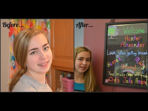 Hannah Gets Braces!!??!! and Day Vlog!