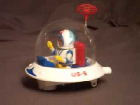 Billy Blastoff Eldon Space Station Play Set