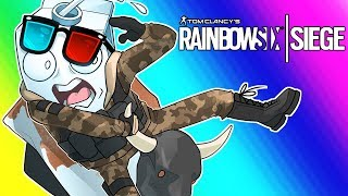 Rainbow Six Siege Funny Moments - Five Morons and a Bull
