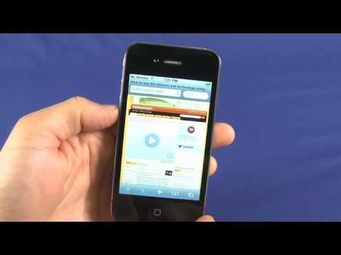 iPhone 4 user guide and new features.