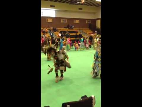 Grand Entry at Whitehorse High School Pow-Wow
