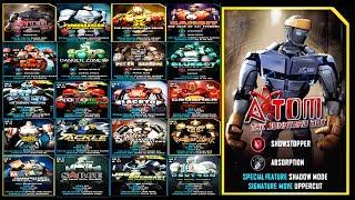 Real Steel Wrb All Underworld I Amp Ii Vs Atom The Junkyard Bot Series Fights