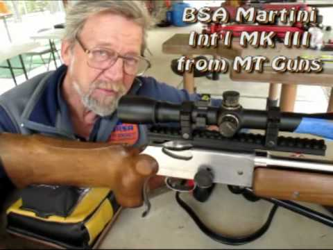 BSA Martini Int'l MK III Smallbore Rifle -- Bench Version