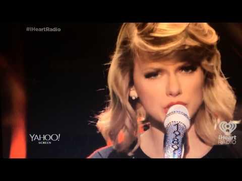 Taylor Swift 2014 iHeartRadio - Full Rehearsal - of - Love Story...