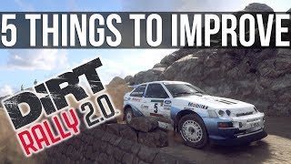 5 Things That Need Improving In Dirt Rally 2.0